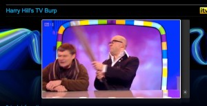 Harry Hill and Dominic Couzens