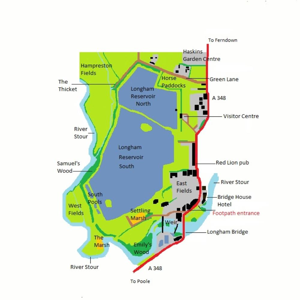 Longham Map